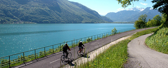 Bikes tours in Annecy